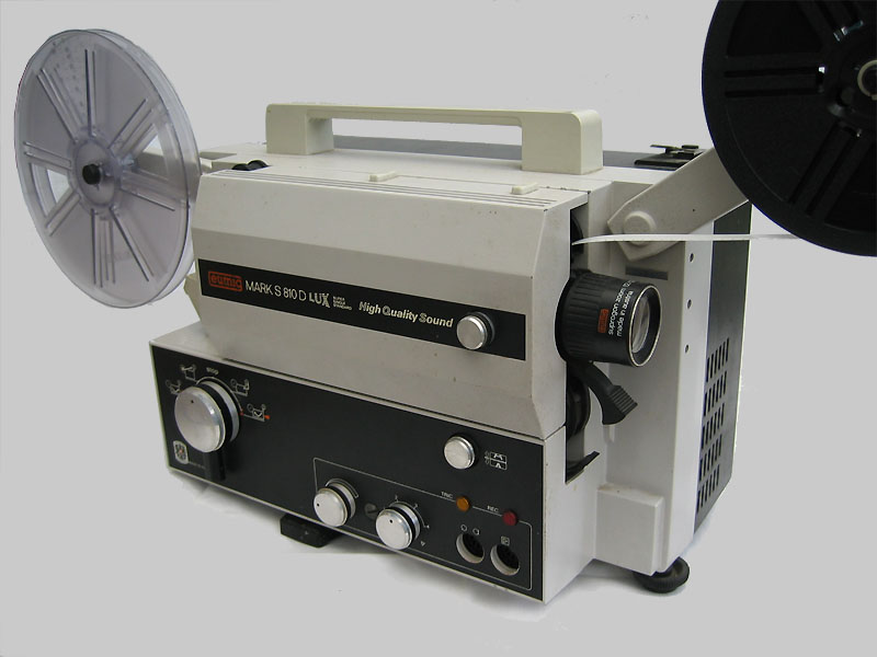 Super 8 Sound Projector Eumig Mark S810