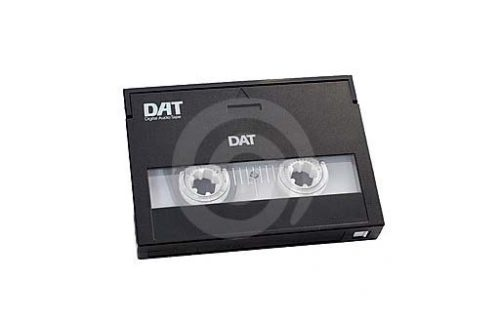DAT tape Happy Ireland Productions