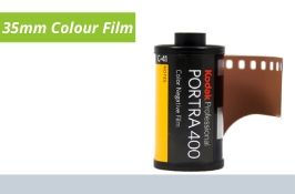 35mm Colour Film Negative Developing and Printing